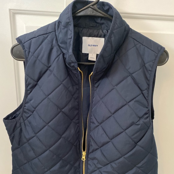 Old Navy Jackets & Blazers - Old Navy Quilted Navy Vest